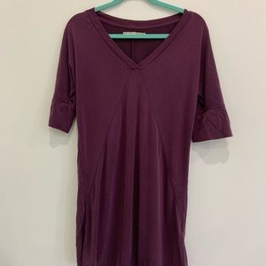 Soft Jersey Tunic Dress